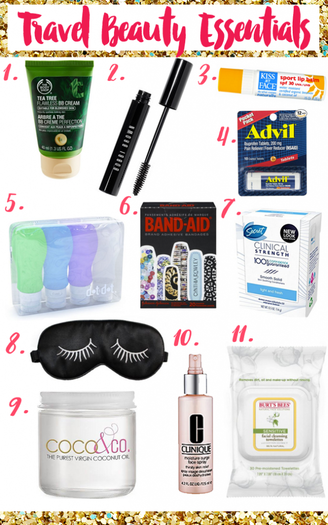 Beauty Travel Essentials When You Need To Pack Light