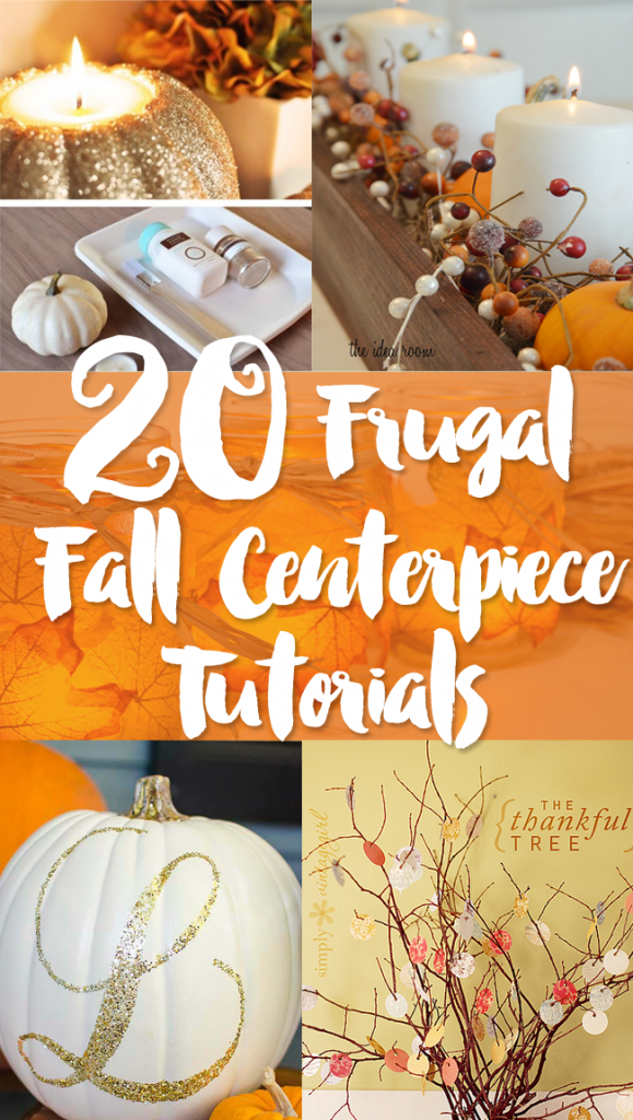 20 Inexpensive Fall Centerpiece Ideas