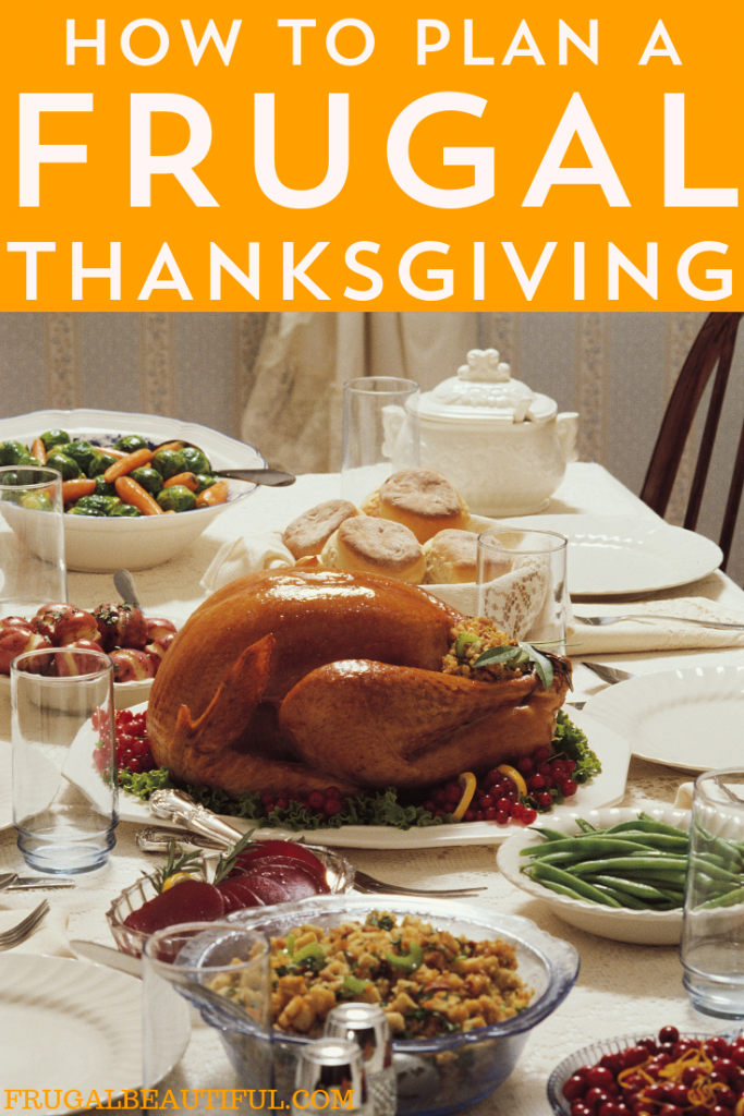 Here are some helpful tips on how to have a frugal Thanksgiving meal with your loved ones, while still keeping it fun and classy.