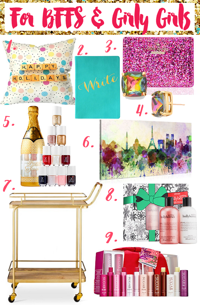 The Gift Guide For Girly Girls and BFFs