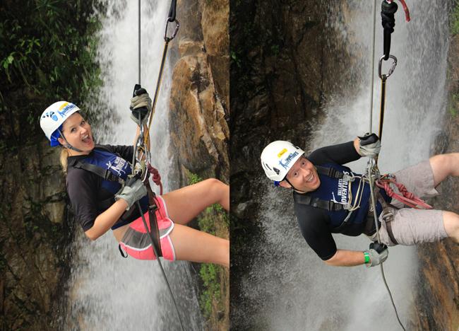 Waterfalls of the Outdoor Adventure Vallarta Adventures