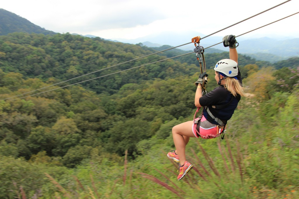 Zip lining Vallarta Adventures