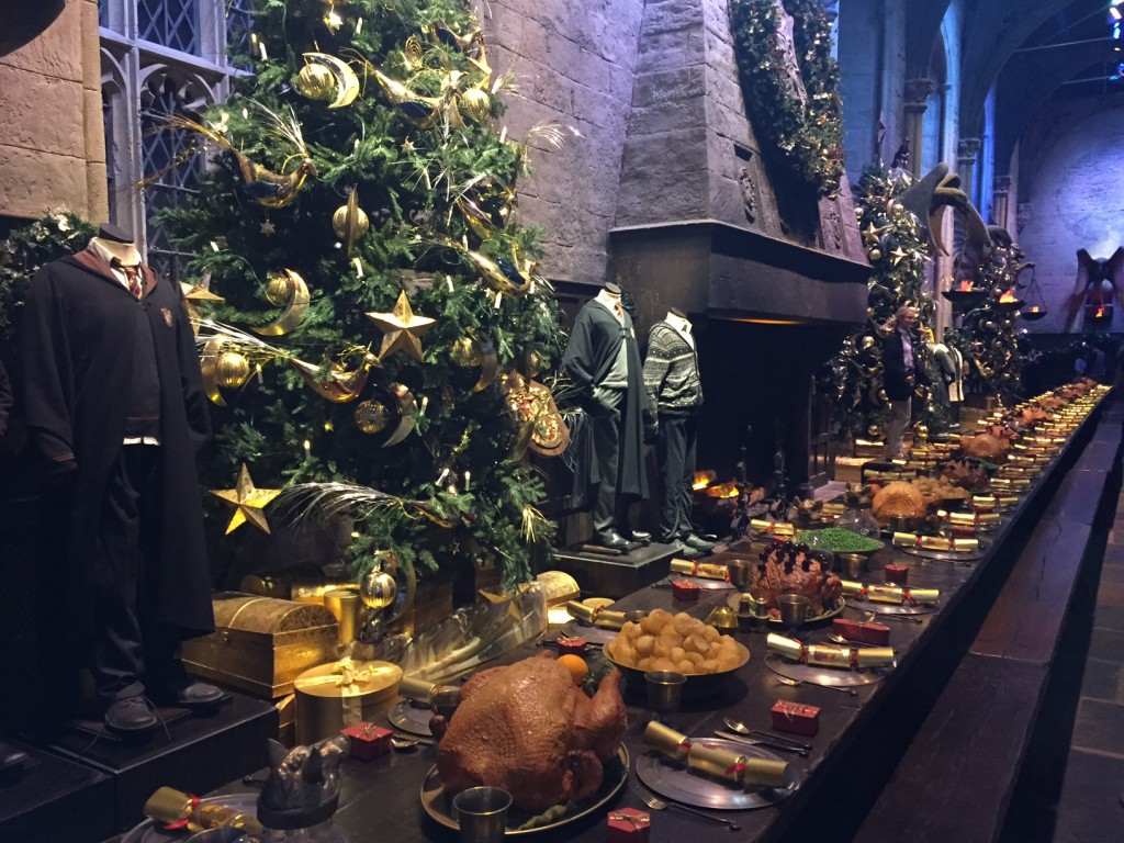 Dining at Hogwarts at the WB Harry Potter Studio Tour