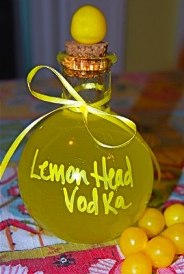 Lemon Head Vodka recipe