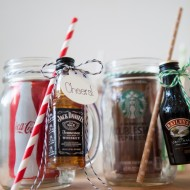 Mason Jar Cocktail Gift DIY