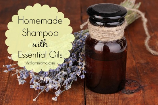 Homemade-shampoo-with-essential-oils