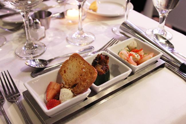 Odyssey Dinner Cruise Starters