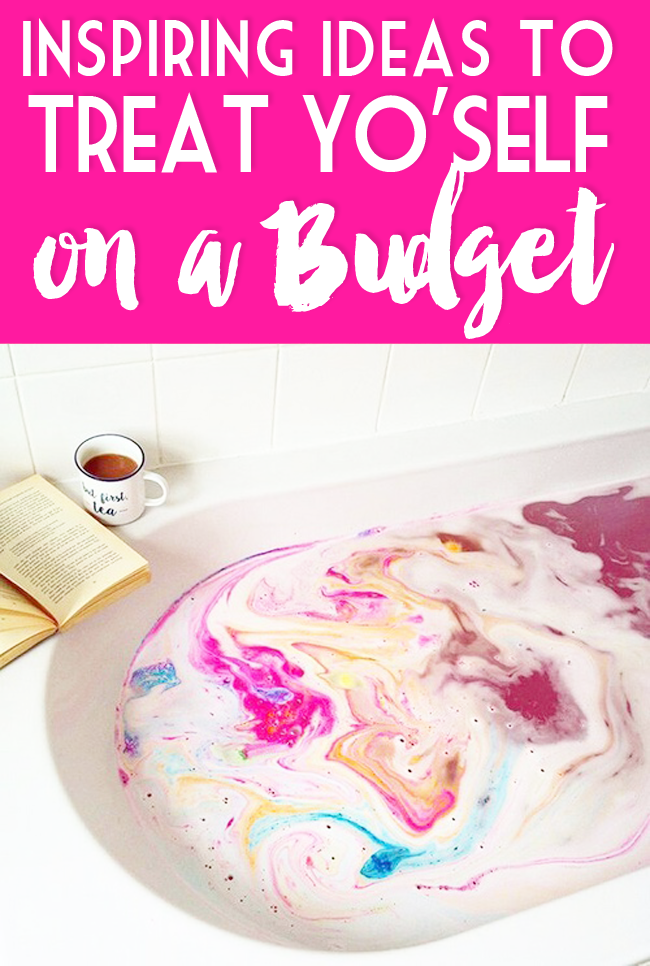 Sometimes, you just have to treat yourself to some primping, goodies, or a spa treatment. Here's how to do it on a budget!