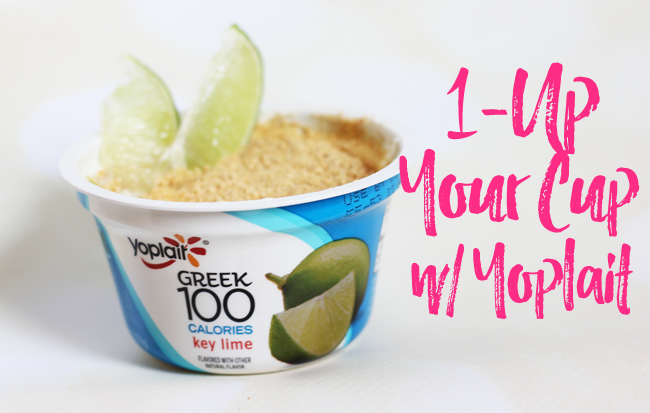 1-Up Your Cup W- Yoplait- Key Lime Pie w-o the calories!
