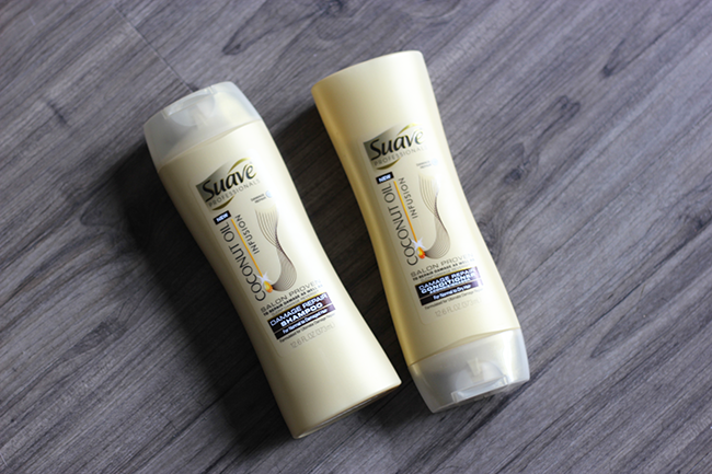 Suave Infusions with Coconut Oil Shampoo + Conditioner