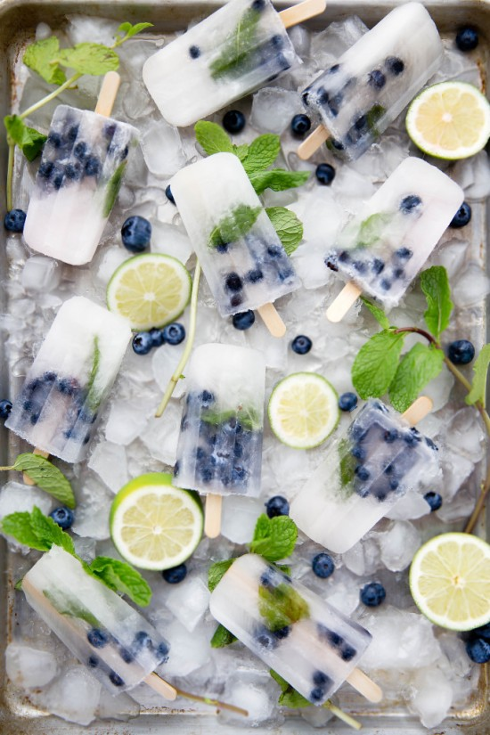 Blueberry-Mojito-Popsicles