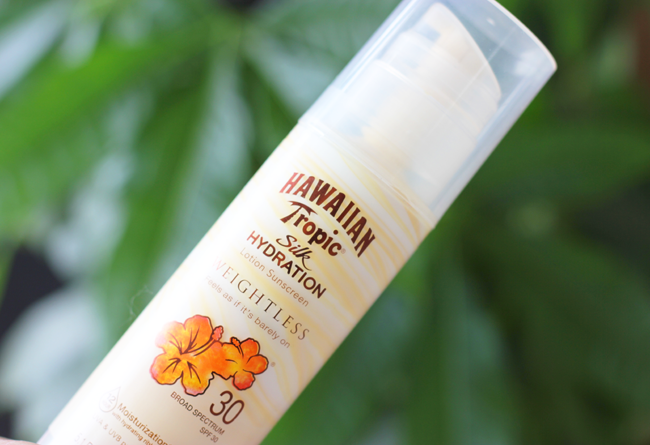 Hawaiian Tropic Silk Hydration Weightless Sunscreen