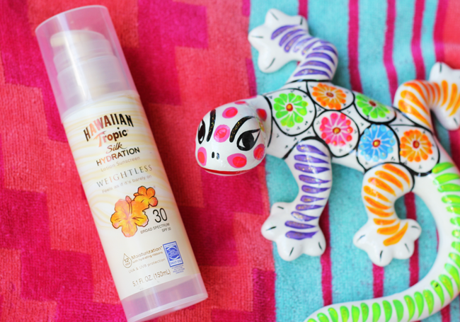 Hawaiian Tropic Weightless Sunscreen at Walmart