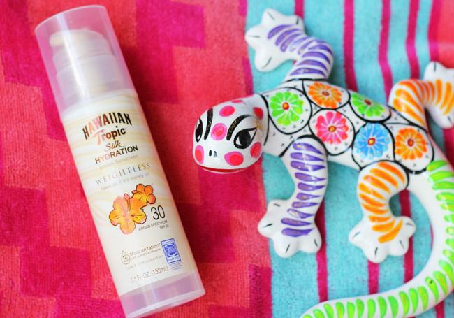 Hawaiian Tropic Weightless Sunscreen at Walmart