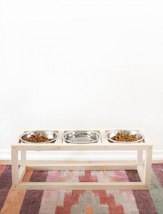 diy-modern-pet-bowl-stand