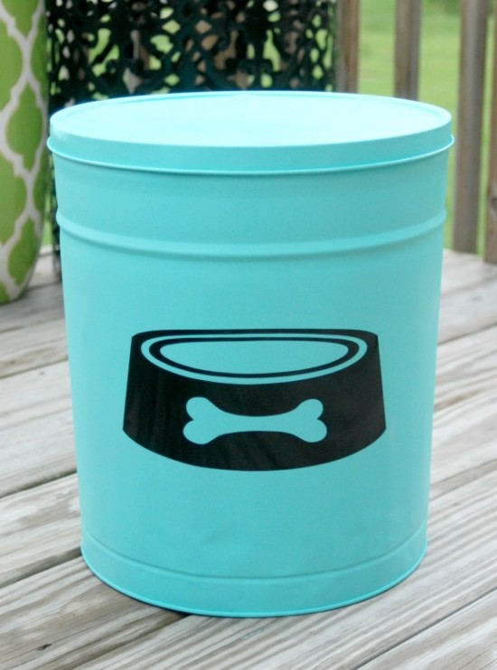 dog storage canister
