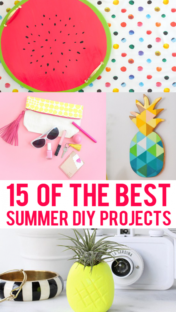 Here are my favorite summer DIY projects to have the greatest summer of all time.