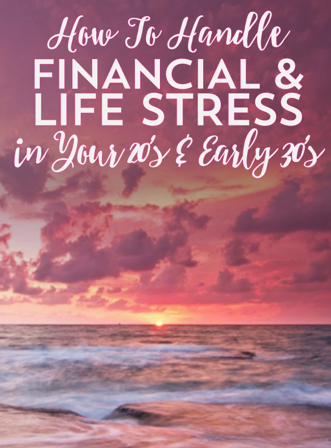 Believe it or not, how you handle financial stress that can accompany your 20s and early 30s can all come down to how you view it!