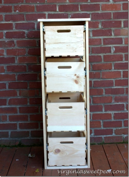 crate cabinet