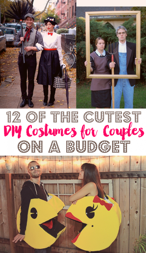Looking for a get-up for both you and your honey this Halloween? We rounded up the 12 cutest DIY couples costumes we could find!