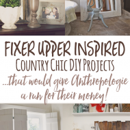 Cheap and Chic DIY Country Decor (a lá Anthropologie)