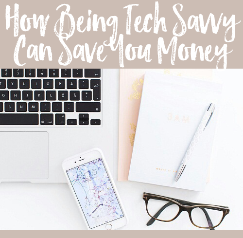 Being tech savvy can save you money! You heard me right. Check out our 5 tips on how to use your tech smarts to save some big bucks!