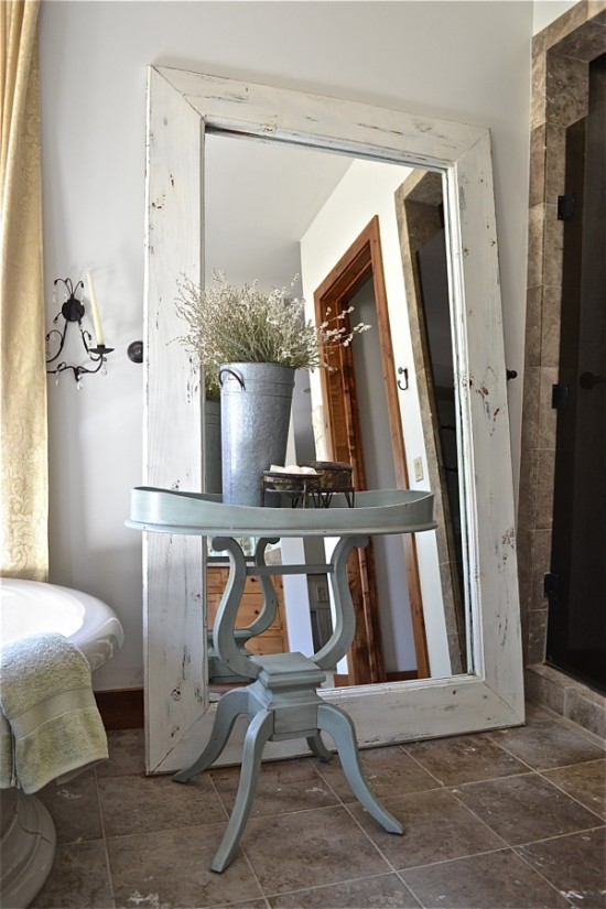 country floor mirror