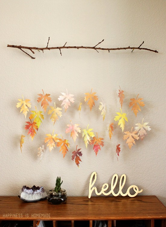 DIY frugal fall decor