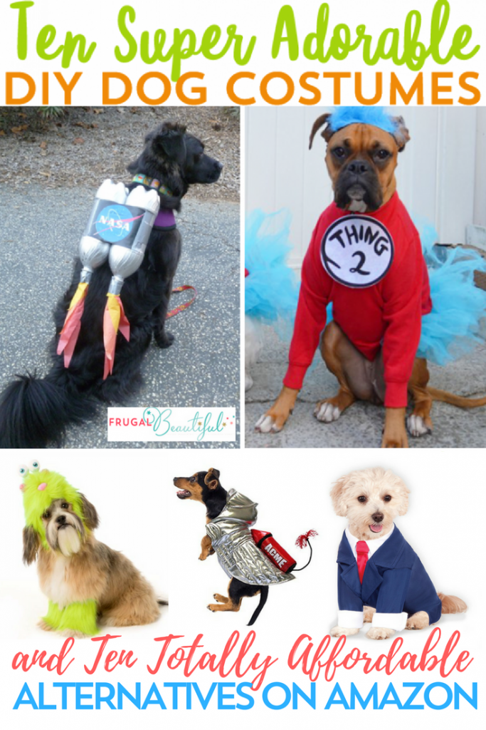 Love Halloween SO much that you just have to include your pooch? Friend, we've got you covered with these adorable and hilarious DIY dog costumes.
