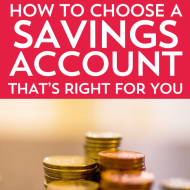 How to Choose a Savings Account That's Right for You