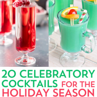 20 Celebratory Cocktails for The Holiday Season