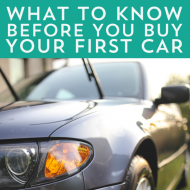 What To Know First Before You Buy Your First Car #WhatToKnowFirst