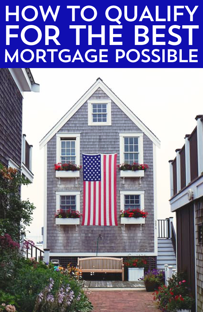 Dreaming of buying a home? Learn how to qualify for the best mortgage possible with these five handy-dandy tips from Frugal Beautiful.