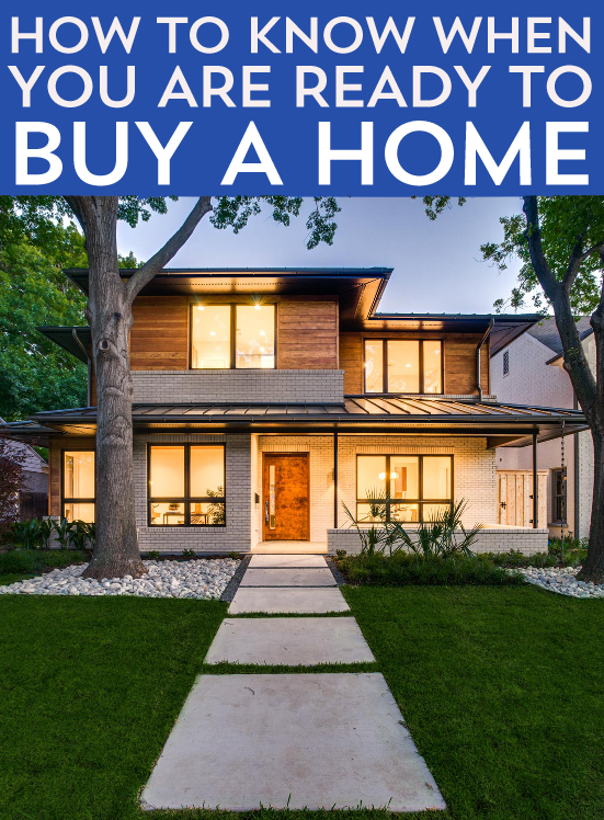 Considering taking the gigantic leap into house-buying? But how do you know when you are ready to buy a home? I've got a few helpful pointers for you here.