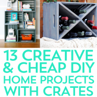 Top 13 Creative Crafts with Crates
