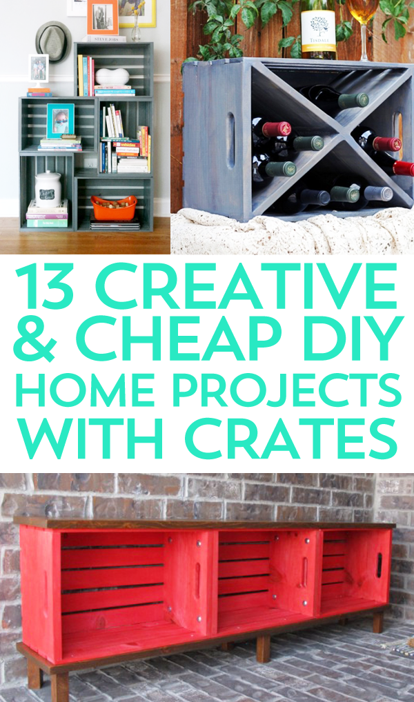 Crates, crates, and more crates! One can never have too many crates. If you agree, check out these 13 different crafts with crates projects!