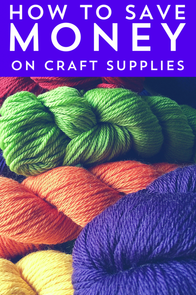 DIY and crafting can be expensive! Let us at Frugal Beautiful show you how to save money on craft supplies.