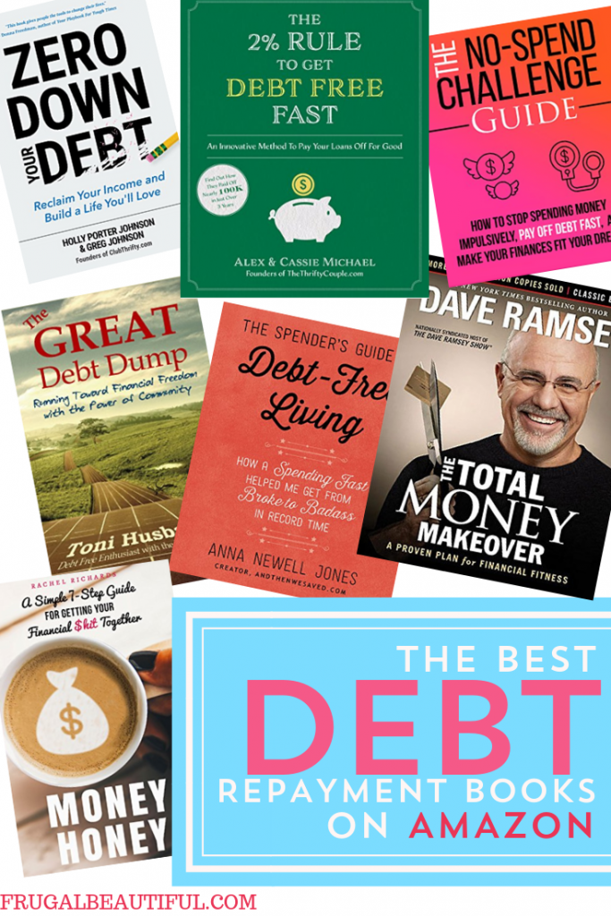 The Best Debt Repayment Books on Amazon