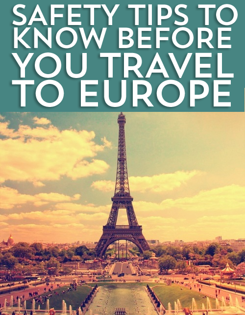 When you travel to Europe, or anywhere for that matter, you need to stay safe. Check out a few tips I have learned along the way!